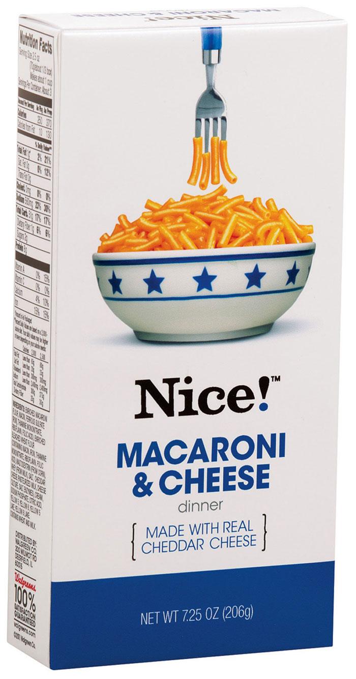 Walgreen Nice Macaroni Cheese