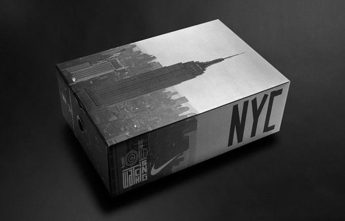 Nike Glass Shoe Box