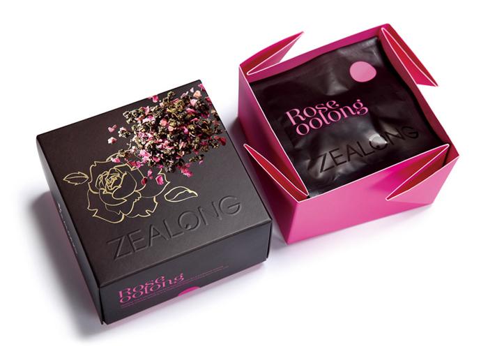 Packaging design inspiration #11 - Zealong Flavored Tea by Victor Design