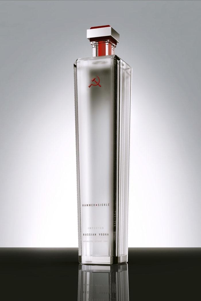 Hammer & Sickle Vodka — The Dieline   Packaging & Branding Design & Innovation News