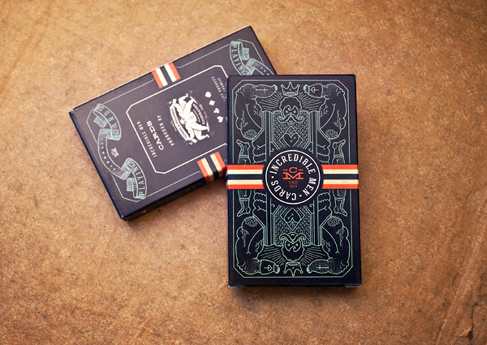 Packaging design inspiration #18 - Incredible Men Cards