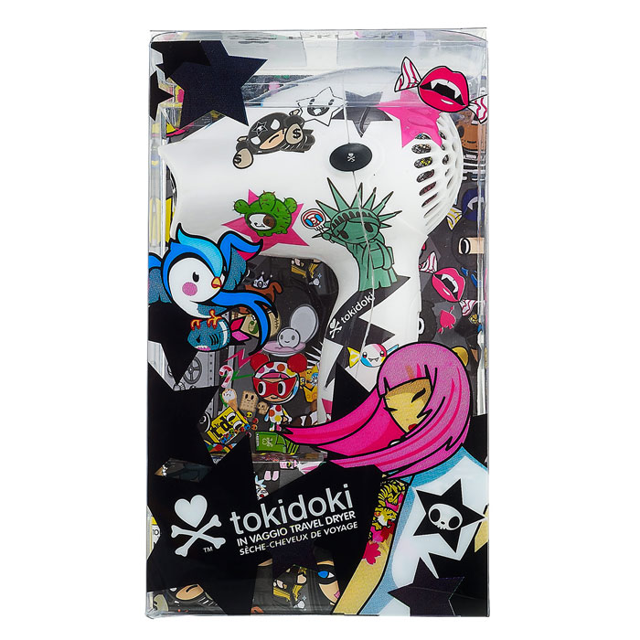 TokiDoki White Hair Dryer Box