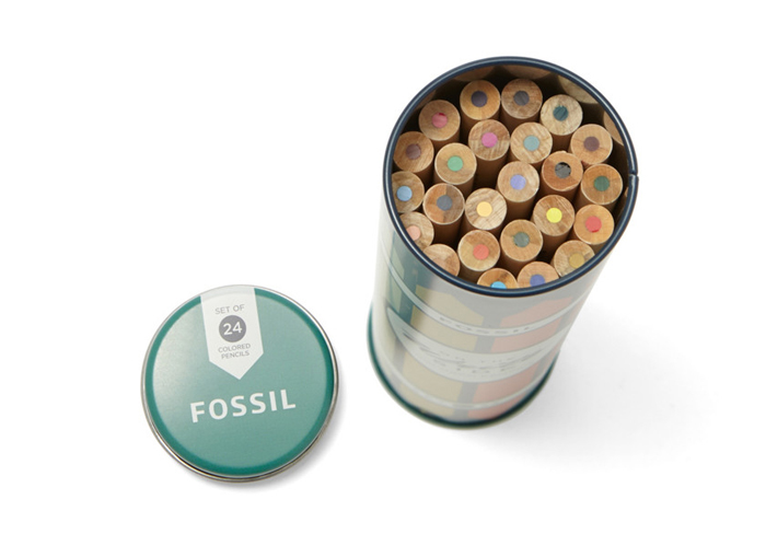 07 24 12 FossilColoredPencilTin 4