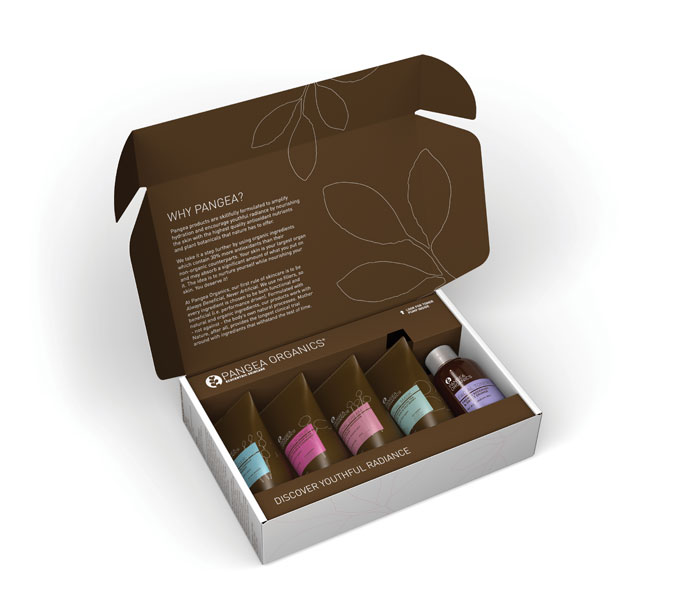 PANGEA SKINCARE DISCOVERY KIT NORMAL DRY INSIDE 2011 PRINT
