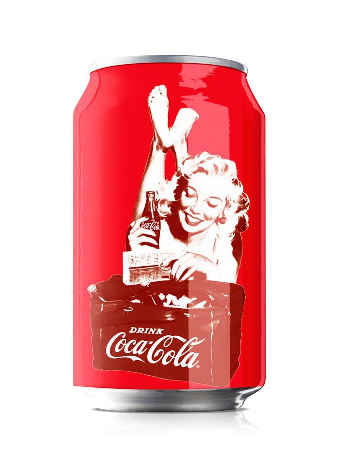 Coca Cola 125 Years The Dieline Packaging Amp Branding