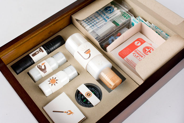 student spotlight iron ranger cing kit the dieline packaging branding design
