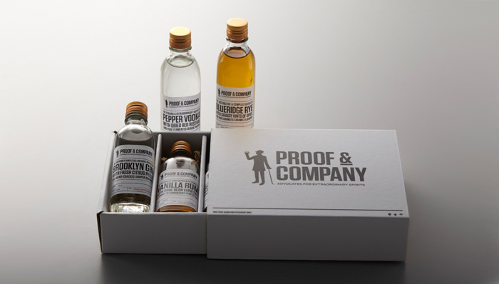 Packaging design inspiration #13 - Proof & Company by Manic Design