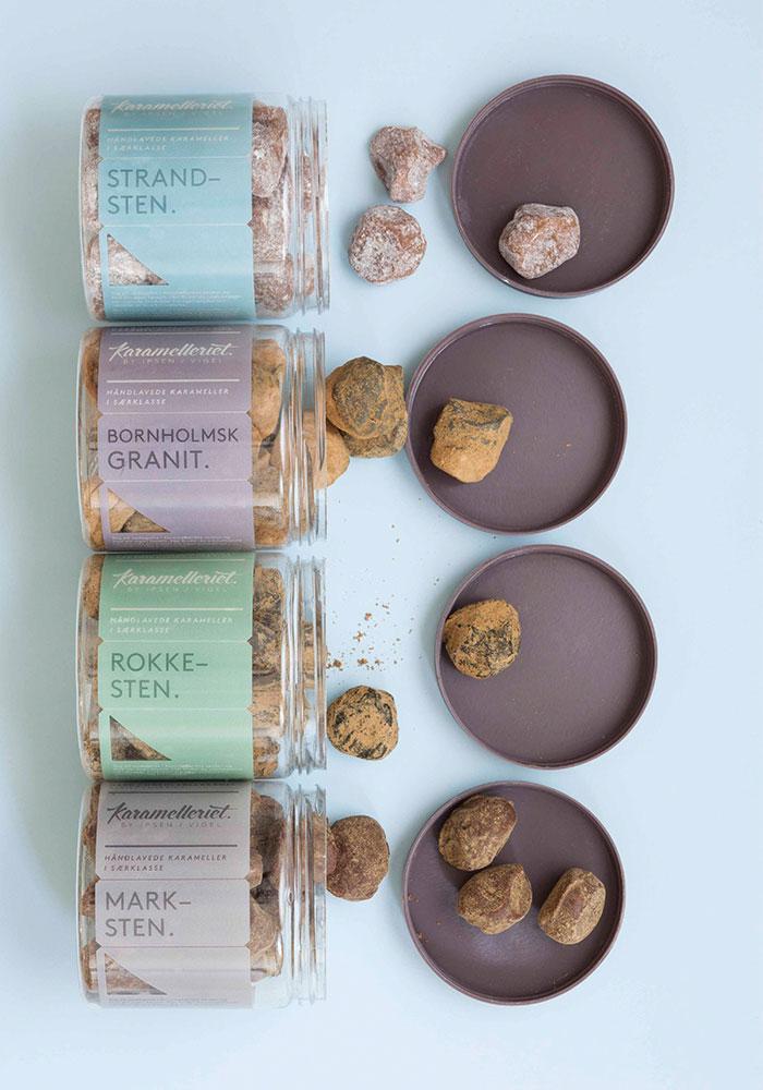 Packaging design inspiration #9 - Karamelleriet by Bessermachen designstudio