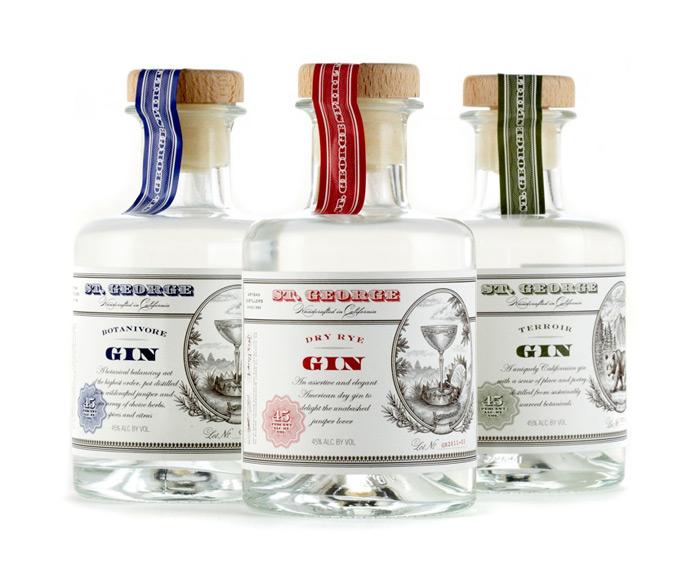 St george gins the dieline branding amp packaging design