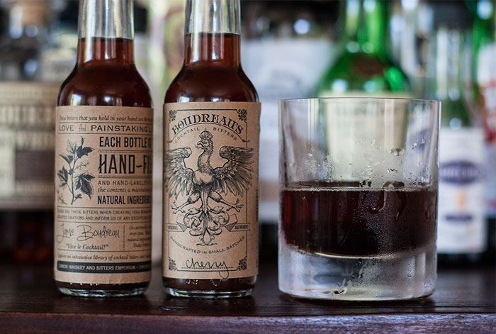 Packaging design inspiration #11 - Boudreau Bitters by David Cole Creative