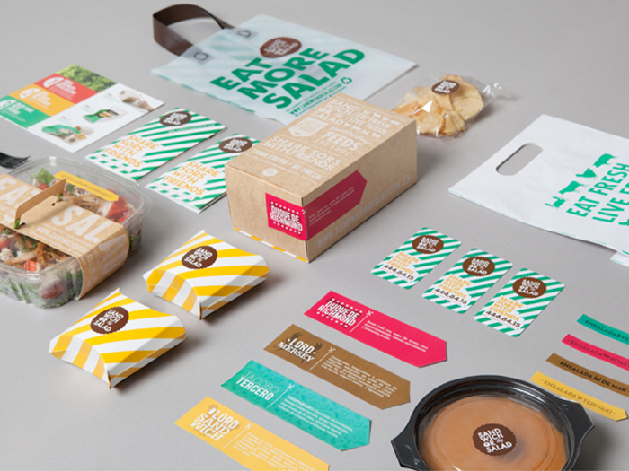 Sandwich Or Salad The Dieline Packaging Amp Branding