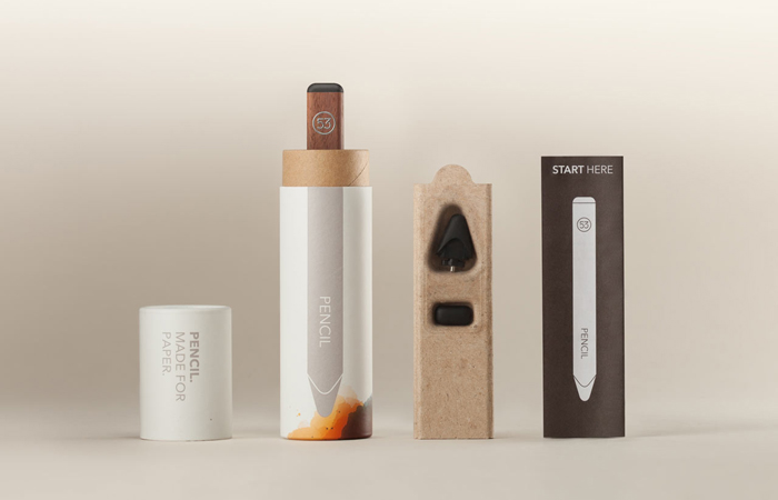 Packaging design inspiration #18 - FiftyThree's Pencil