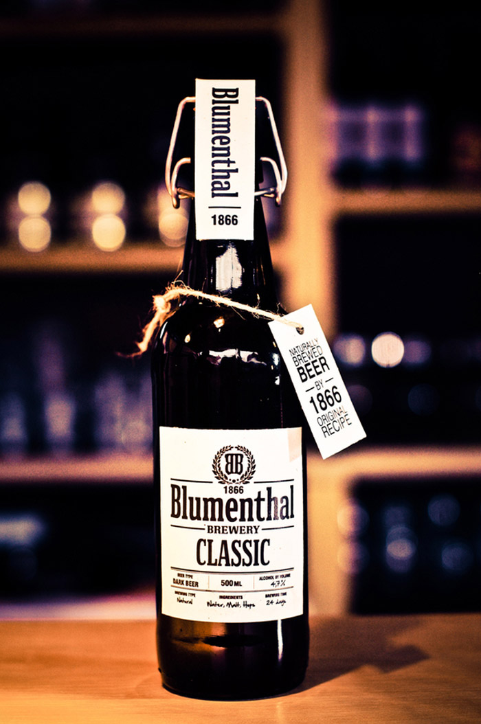 Concept Blumenthal Classic Beer 1866 The Dieline