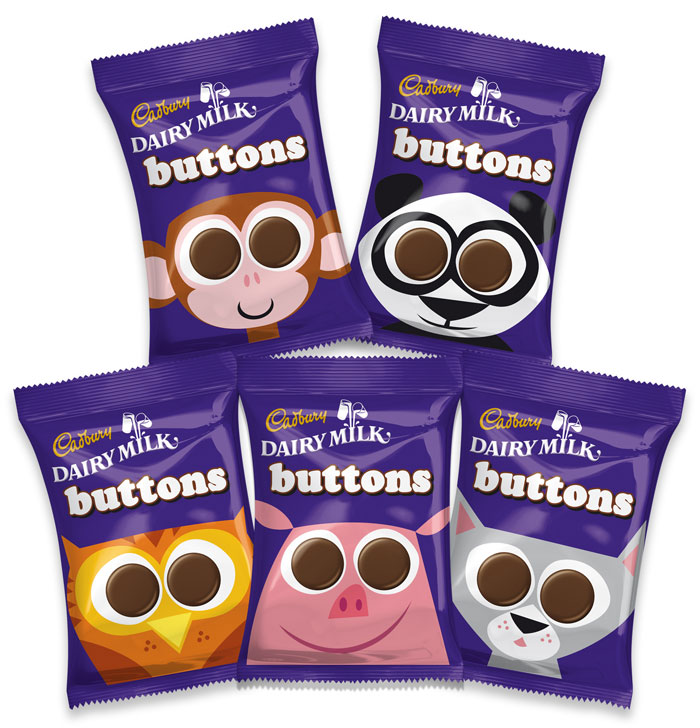 10 25 13 candy Buttons