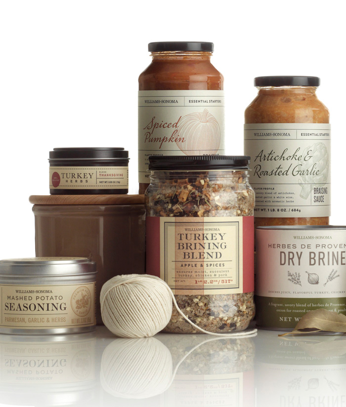 Packaging design inspiration #17 - Williams-Sonoma by Cult Partners