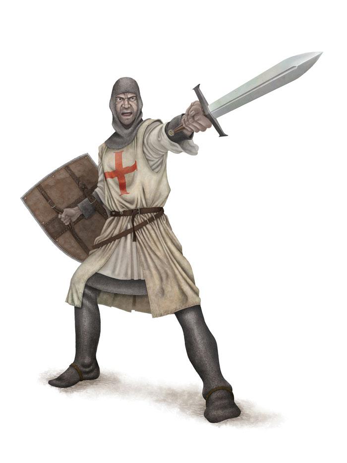 Knight Pose 3 FLAT SML