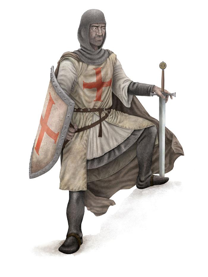 Knight Pose 2 FLAT SML