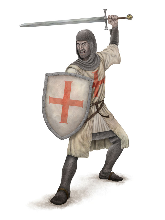 Knight Pose 4 FLAT SML