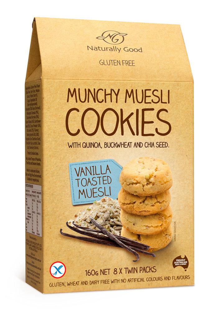 Packaging design inspiration #14 - Munchy Muesli by Watts Design