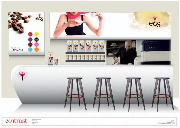 Avery Dennison Brand Experience Contest Winner Coffee Category Retail Graphics Yve Oosthuizen Contrast Studio Inc