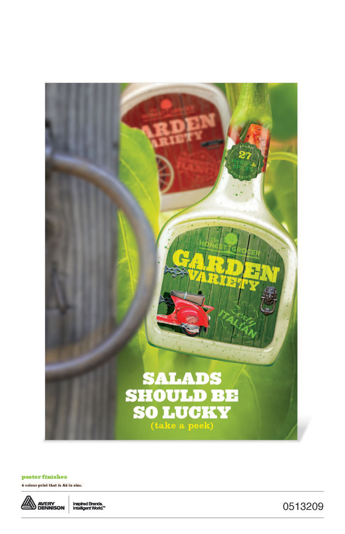 Avery Dennison Brand Experience Contest Winner Salad Dressing Category Retail Graphics Steve Rischmiller The Saltmine