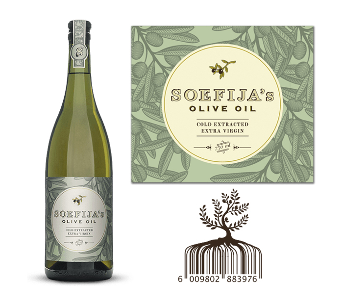 Packaging design inspiration #14 - Soefija's Olive Oil by Fankalo