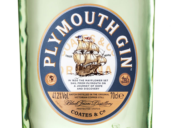 Plymouth Gin Mayflower detail