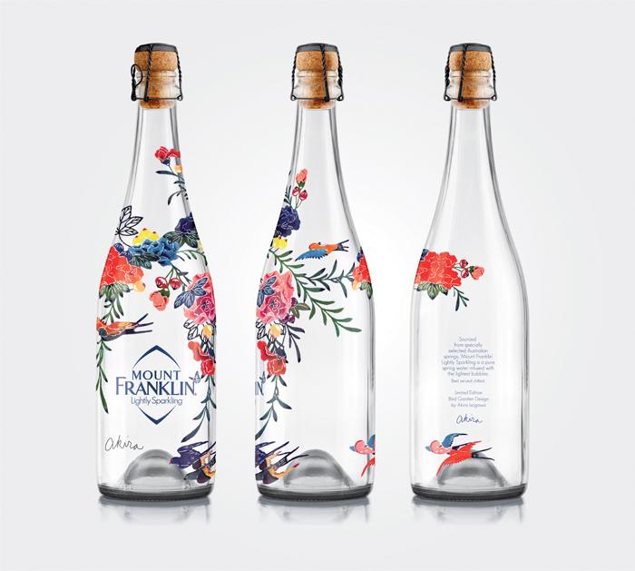 Packaging design inspiration #16 - Mount Franklin Lightly Sparkling by Creative Platform