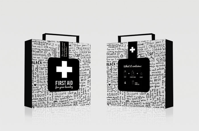 First aid front back