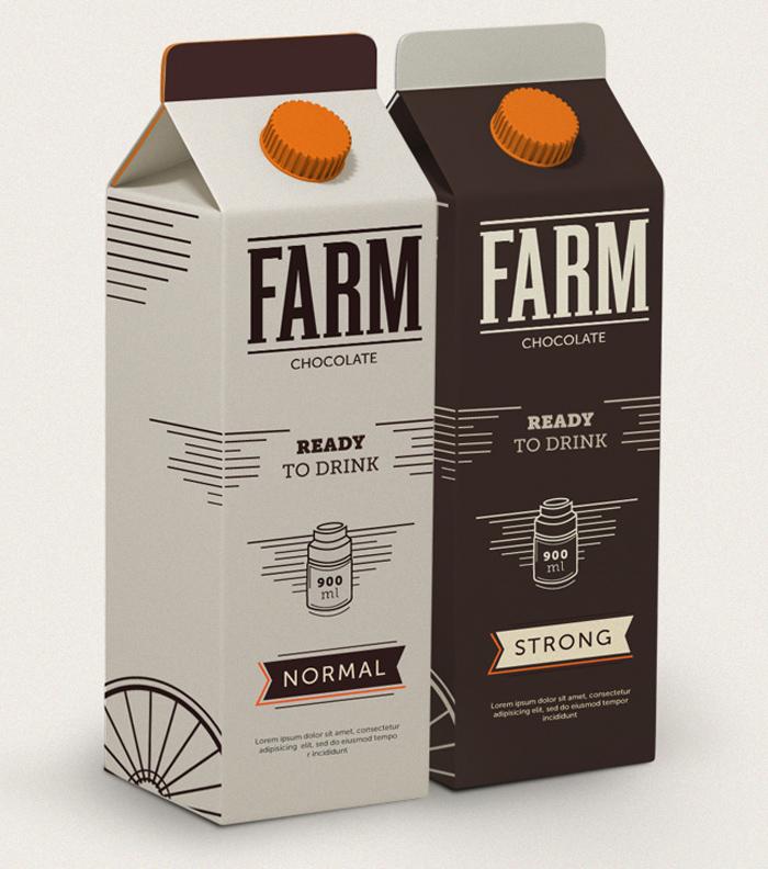 Gustafson Farm Chocolate Milk
