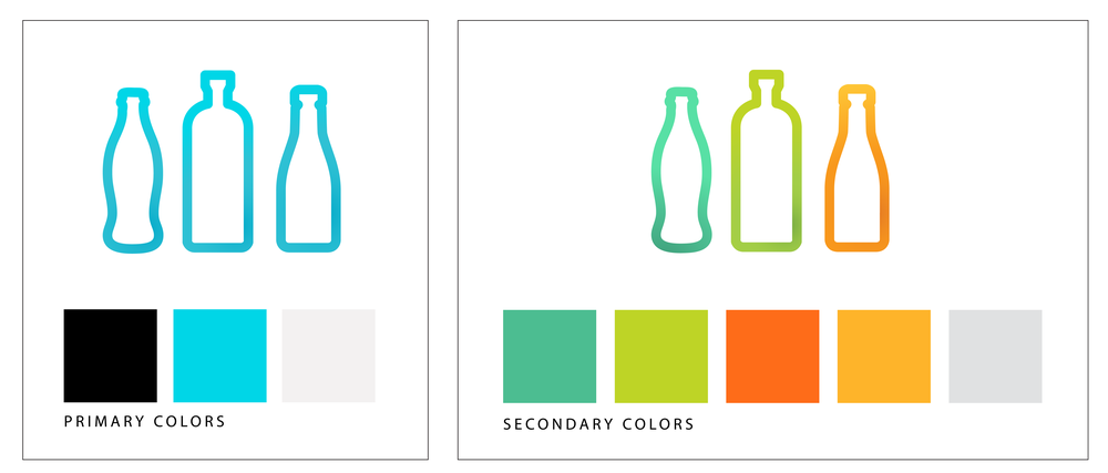Primary and Secondary Branding Colors