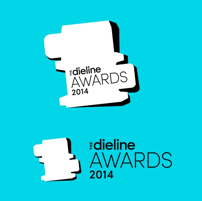 The Dieline Awards 2014 Logo