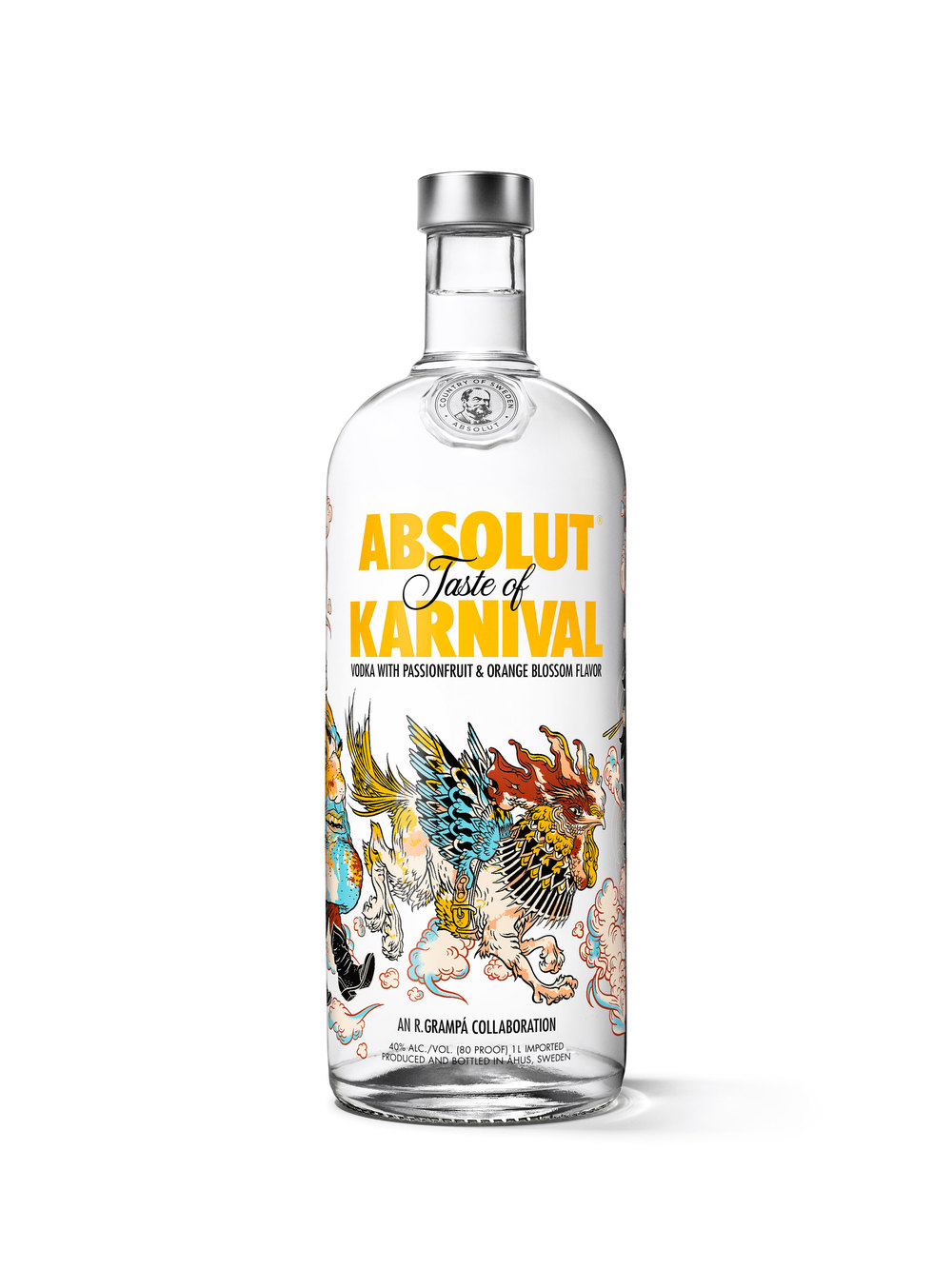 Absolut Karnival The Dieline Packaging Amp Branding