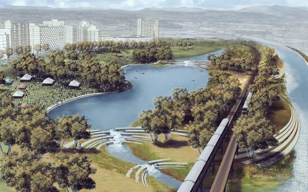 Los Angeles River, Original Master Plans