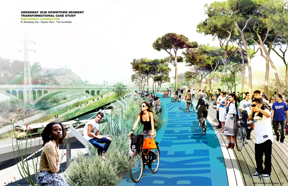 Los Angeles River, Greenway 2020 Plans