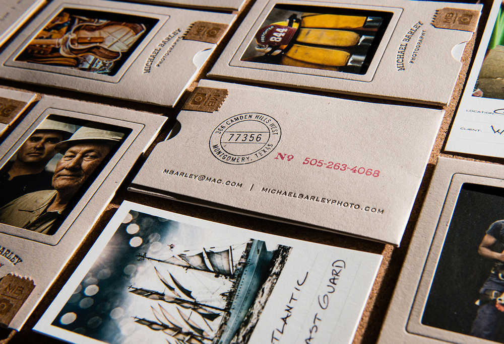 Michael Barley Promotional Cards — The Dieline | Packaging ...