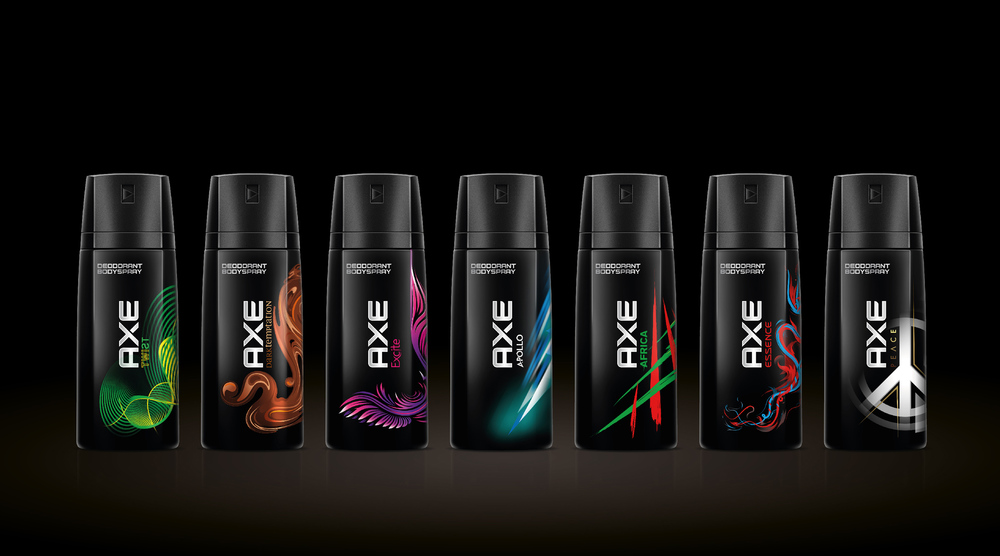 New Identity For Axe Revealed The Dieline Packaging