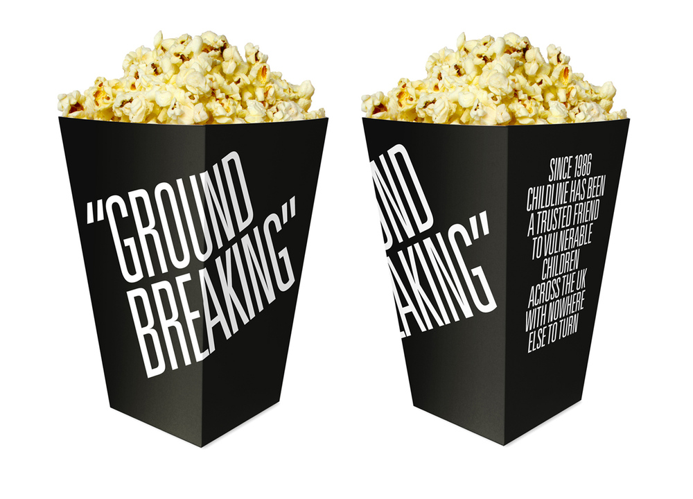 Monday Movie Club Popcorn Boxes — The Dieline - Branding ...