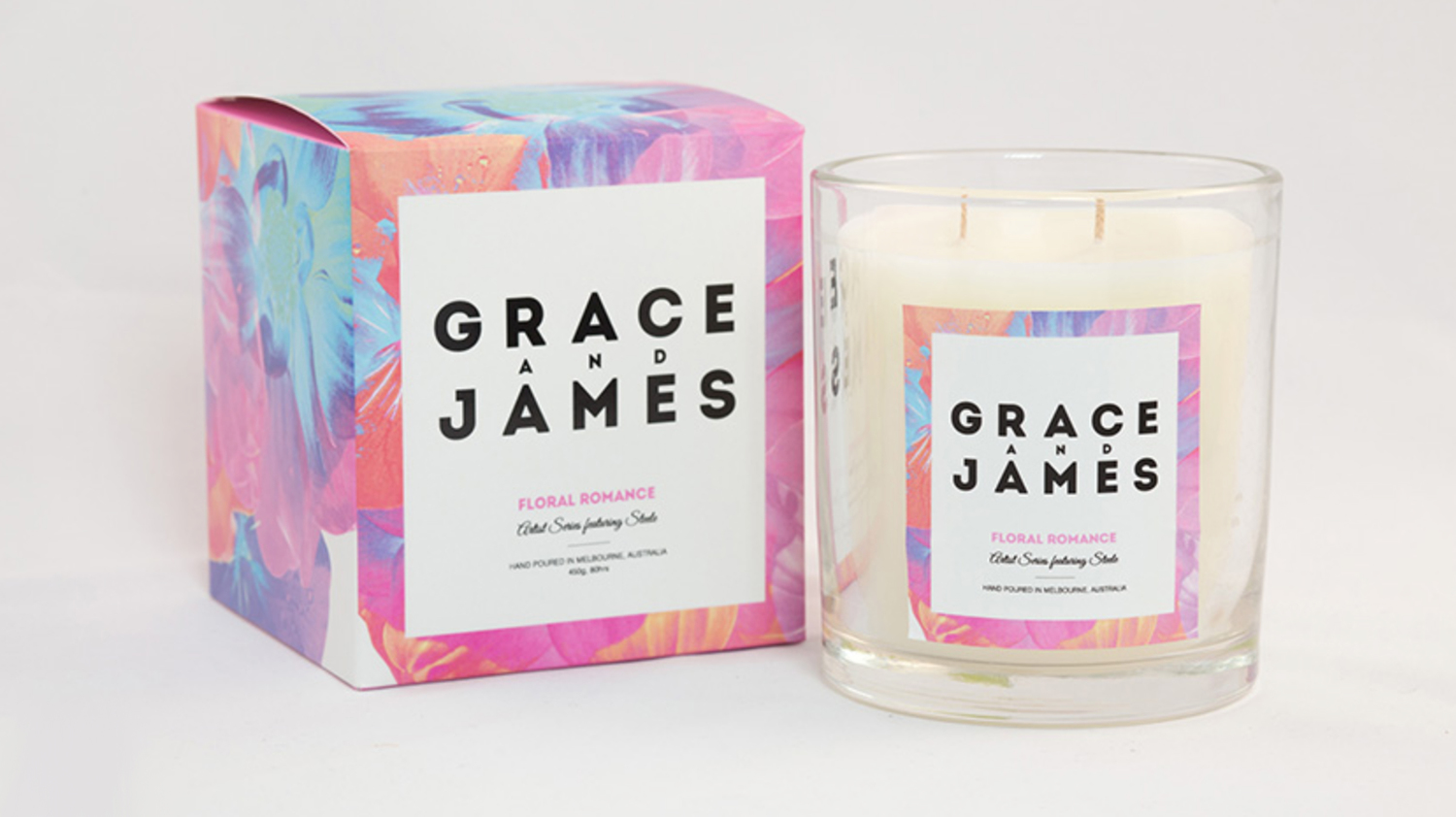 Grace and James Candle Packaging 3