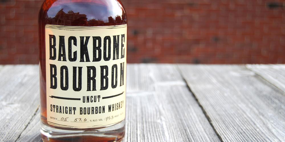 Backbone Bourbon The Dieline Packaging Amp Branding
