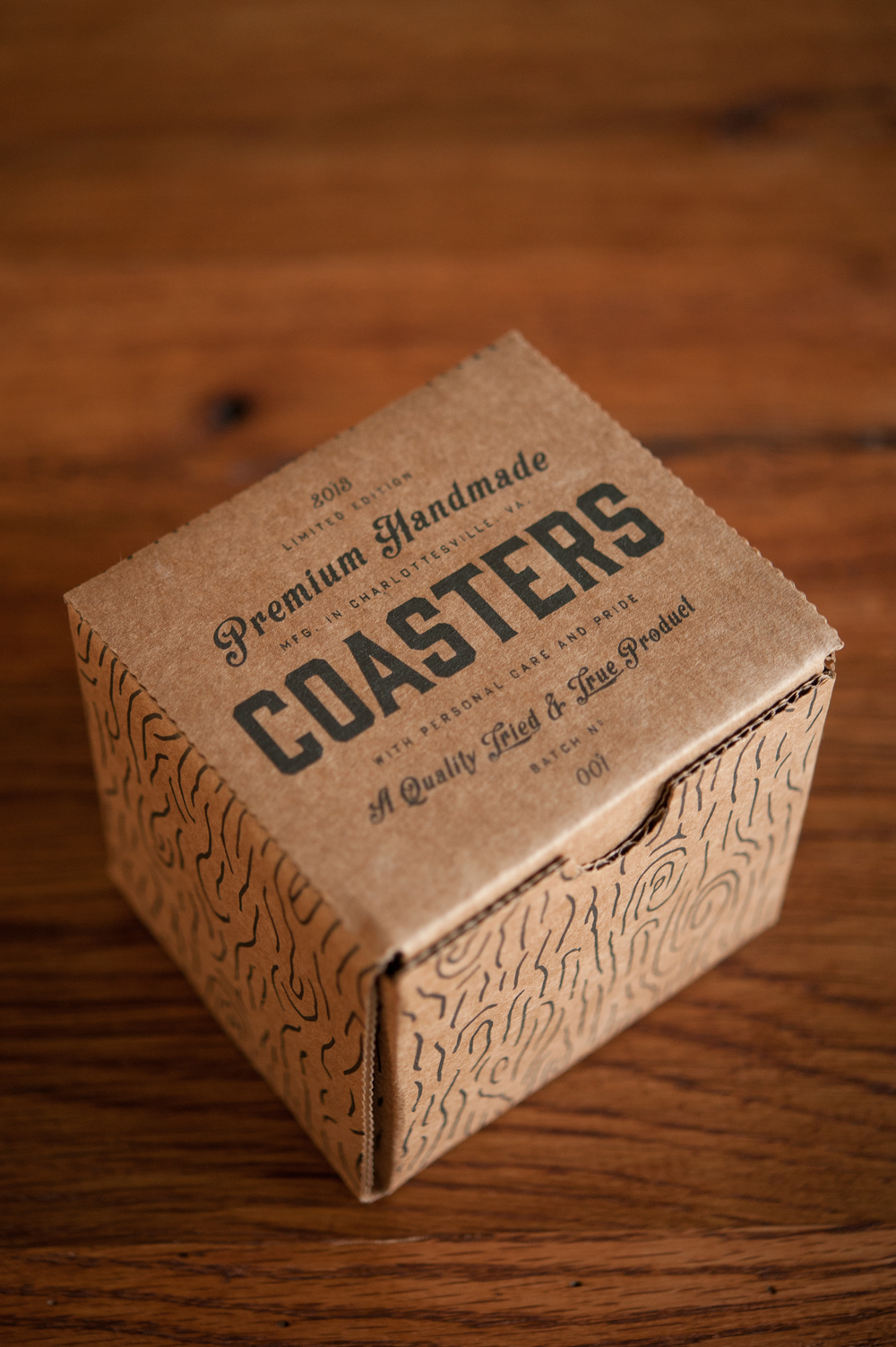 premium handmade coasters the dieline package design resource