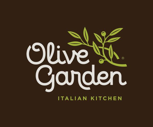 Olive Garden's Logo Detail