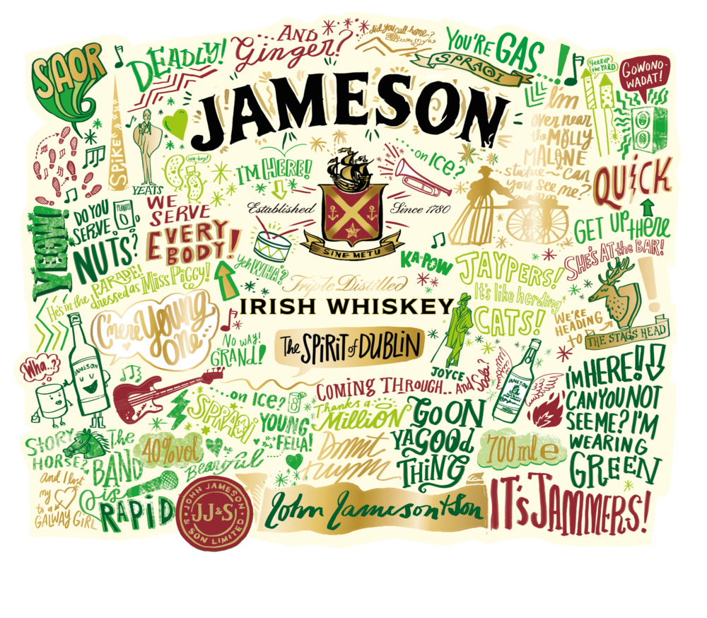 Jameson Reveals St Patricks Day Limited Edition Bottle on old radio broadcast stations