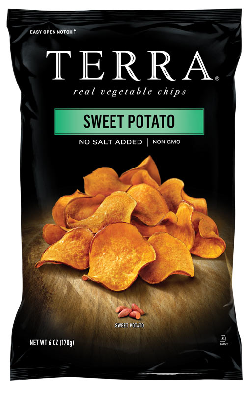 Before Amp After Terra Chips The Dieline Branding