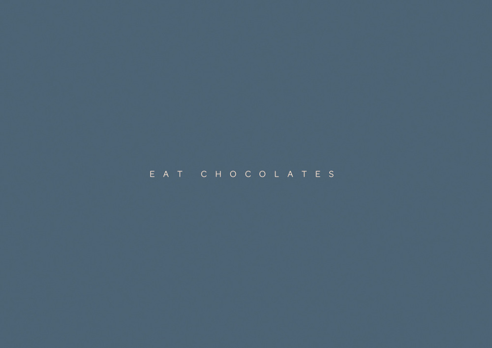 Eat Chocolates 2