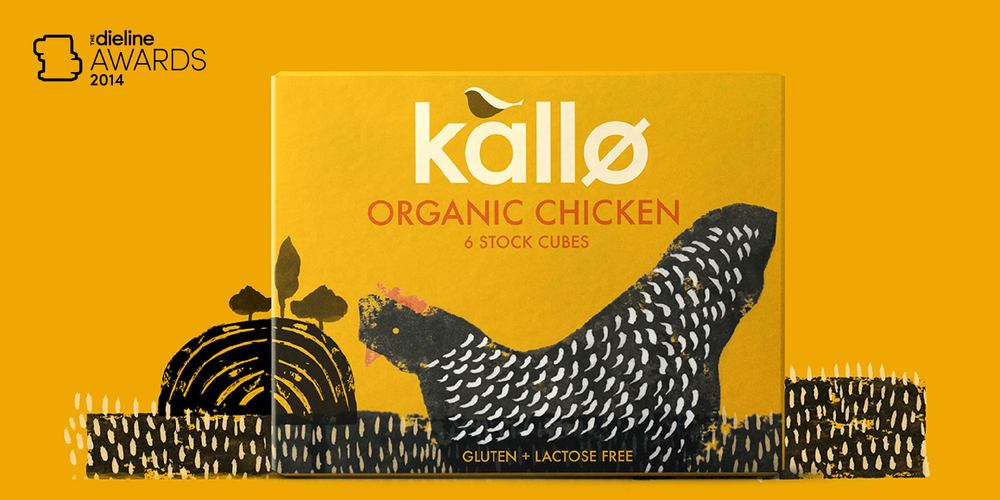 The Dieline Awards 2014 Prepared Food 2nd Place Kallo