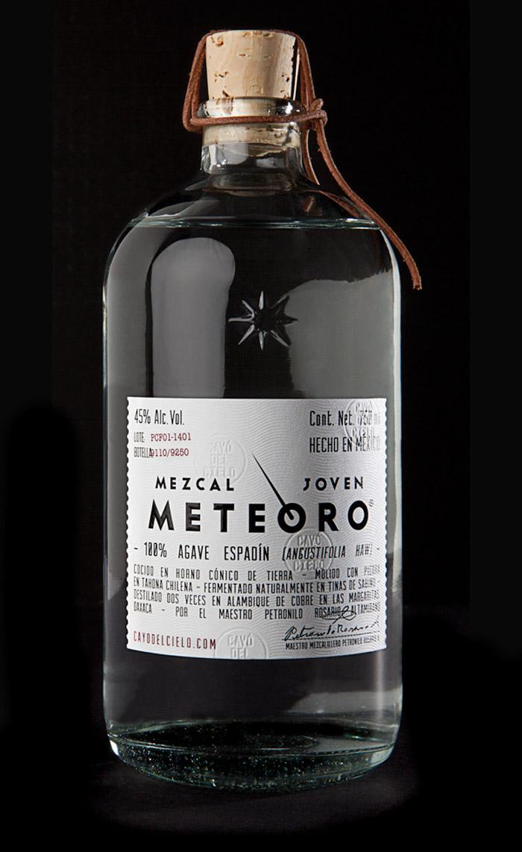 Mezcal Meteoro The Dieline Branding Amp Packaging