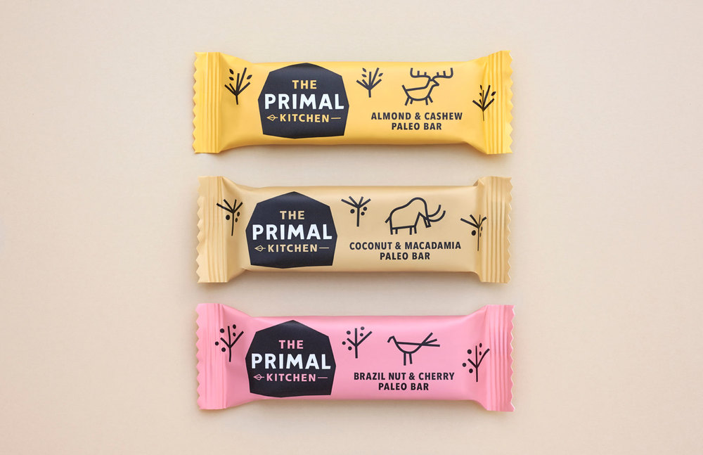 the primal kitchen the dieline packaging branding