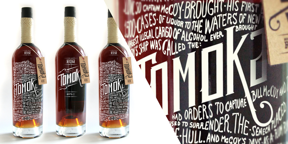 Tomoka Rum The Dieline Packaging Amp Branding Design