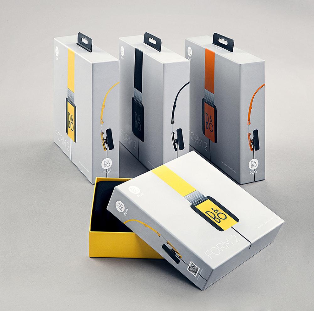 b o play headphones the dieline packaging branding design innovation news. Black Bedroom Furniture Sets. Home Design Ideas